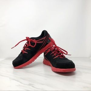Fila Sneakers - Black & Red - Youth Size 4